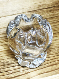 Vintage Swedish Art Glass Vase by Edvin Ohrstrom for Orrefors - FU2444- 3