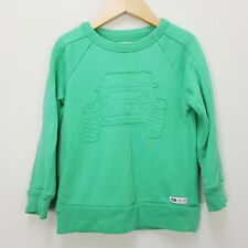 COUNTRY ROAD Boys Size 3 Green Crew Neck Jumper