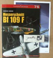 Messerschmitt Bf 109 F - Kagero Topdrawings *N*E*W*
