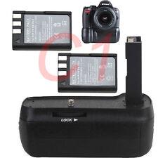 Battery Grip for Nikon D40 D40X D60 D5000 D3000 DSLR Camera  2pcs EN-EL9 Battery