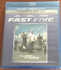 FAST FIVE: Extended Edition ;  BRAND NEW BLU-RAY