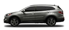 BODY SIDE Moldings PAINTED With Chrome Insert For: HYUNDAI SANTA FE 2013-2018