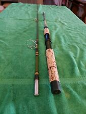 """New listing 1-Garcia Conolon 3-Stars 6'6"""" Model Vtg Spinning Fishing Rod 2 Pc Collectible"""