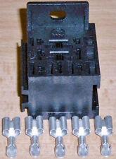 Wohnmobil/ KFZ: Relaissockel, für Trenn-/ Öffner-/ Wechselrelais (15-50  Ampere)