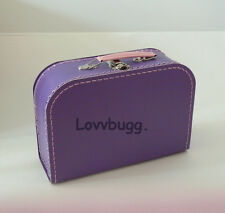 "M Purple Trunk Doll Suitcase for 18"" American Girl Lovvbugg Has Widest Selection"