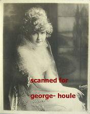 MAY ALLISON - 8X10 - VTG - HARTSOOK - INSCRIBED - THETA BARA - HAROLD LOCKWOOD