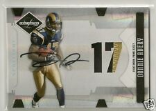 Donnie Avery 2008 Leaf Limited 2 color Patch RC Auto #'d 24/49 - RAMS / CHIEFS