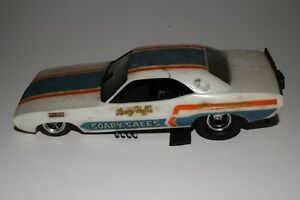 MPC Larry Huff Soapy Sales Dodge Challenger Funny Car Original Kit