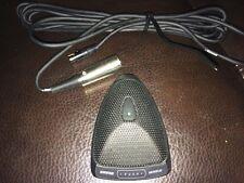One 1 Shure Microflex Mx393/C Cardioid Condenser Microphones