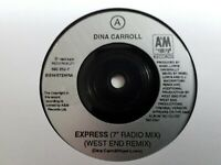 "Dina Carroll - Express 7"" Vinyl Single"