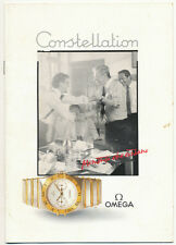 Omega original 1986 catalogue for Constellation watches E593