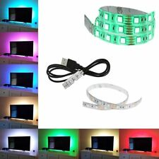 100cm 60leds Flexible 5050 RGB USB LED Strip Light TV/PC Background Lighting