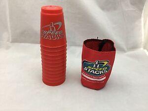 Speed Stacks Stappler Becher Spiel Offiziell Tasse Der Wssa 12 St.Rot Tragen