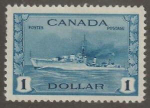 Canada 1942 #262  - Tribal Class Destroyer, RCN - MH VF