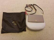 Kate Spade New York blush pink/neutral saffiano leather Byrdie messenger bag