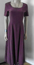 LAURA ASHLEY 100& SILK FULLY LINED  LONG FLOATY  DRESS  SIZE 10