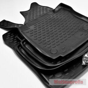 MP 3D Gummimatten Gummifußmatten passend für VW Caddy III ab Bj.2004 - 2015 Nov