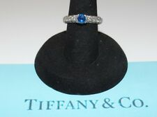 Tiffany & Co. Etoile Diamond and Sapphire Ring