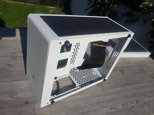 Raijintek OPHION ITX Gaming Case - White USB 3.0 with extra side panels, modded