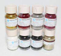 8 1.5 oz Martha Stewart Crafts Glitter - various colors
