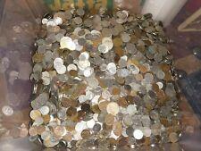Belgique lot de plus de 5 kilos d'anciennes pièces en francs belges  LOT 1