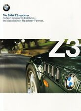 BMW Z3 ROADSTER 1.8 1.9 2.8 M Classic Cabrio Classic Prospekt Brochure 1998 /71