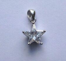 Collares y colgantes de joyería con gemas de plata de ley, símbolos