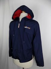 Catalina Women's Navy Blue Hoodie Zip Jacket Size 8/10 Med