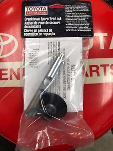 2010-2019 Toyota Tundra Spare Tire Lock Kit  PT276-34071 Genuine OEM Part