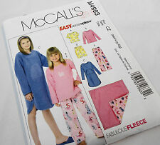 McCall's M4963 Sewing Pattern, Girl's Pajamas, Nightgown