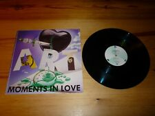 THE ART OF NOISE MOMENTS IN LOVE 12 INCH EXTENDED SINGLE VINYL RECORD EXCELLENT+