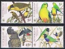 Australie 1998  VOGELS PAPEGAAIEN PARROTS     postfris/mnh