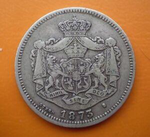 1 leu 1873 Romania silver