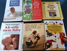 6 Bücher alles über Babys Kinder Gesundheit Babybuch Kinderspiele