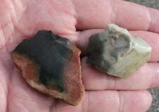 Jaspe du désert, lot de 2 pierres brutes 35 g. minéraux