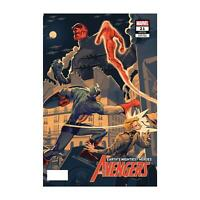 AVENGERS #21 MONDO SDCC VARIANT NM CAPTAIN AMERICA RED SKULL MARVEL INVADERS