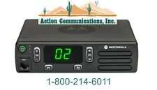NEW MOTOROLA CM200d ANALOG - UHF 403-470 MHZ, 40 WATT, 16 CH, MOBILE 2-WAY RADIO