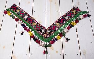 """10.63"""" x 43.31"""" Tassel Segusha Belly Dance Uzbek VINTAGE FAST Shipment UPS 259"""