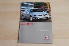 79049) Seat Toledo - Farben & Polster - Prospekt 07/2001