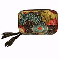 Vera Bradley All In One Crossbody RFID Wristlet Wallet Flower Shower 2017 RETIRE