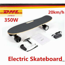E Skateboard Elektro Board Skateboard Elektrisch Komplettboard Fernbedienung NEU
