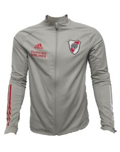 RIVER PLATE TRAINING JACKET 2020 2021 WITH SPONSORS