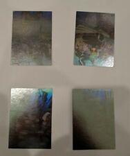 1995 Chef Boyardee Marvel Comic X-Men Mystery Supervillain 4 Card Hologram Set