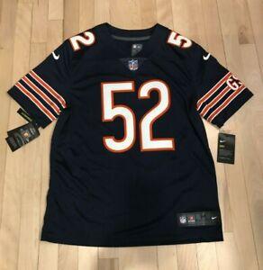 KHALIL MACK Chicago Bears Nike LIMITED Home Jersey Stitched MEDIUM ($150)