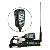 25W Mobile Amateur Transceiver Dual Band Car Radio With FM Scan DTMF