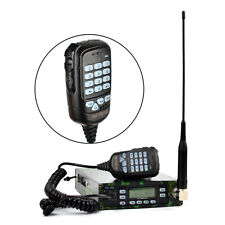 25W Mobile Ham Amateur Transceiver Dual Band Car Radio With FM Scrambler DTMF