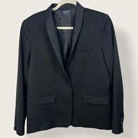 Yves Saint Laurent Womens Black Tuxedo Blazer YSL Womens Size 46 = Size 14 USA
