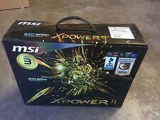 NEW* MSI BIG BANG - XPOWER II, Motherboard, LGA2011 Socket