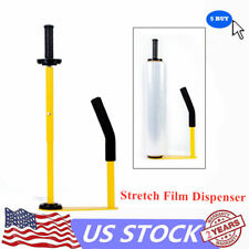 Handling Tools - Stretch Film Dispenser with Handle- Durable, Lightweight