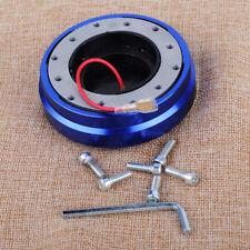 Car Racing Quick Snap Off Steering Wheel Hub Release Adapter Push Pin Boss Kit